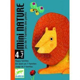 Детская настольная карточная игра Маленькая природа, DJECO