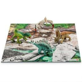 Набор мини-динозавры и пазл