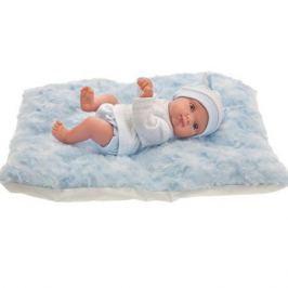 Кукла Пепита на голуб. одеялке, 21см, Antonio Juan Munecas
