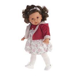 Кукла Аделина в красном, озвученная, 55 см., Antonio Juan Munecas