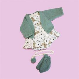 Комплект одежды с зеленым кардиганом для Оливии, Vestida de Azul