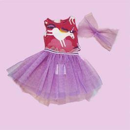 Комплект одежды Паулина Балерина, платье с единорогом, Vestida de Azul