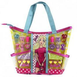 Barbie Игровой набор детской декоративной косметики с сумкой, Markwins
