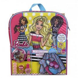 Barbie Игровой набор детской декоративной косметики с рюкзаком, Markwins