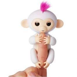 FINGERLINGS Интерактивная обезьянка СОФИЯ (белая), 12 см, FINGERLINGS