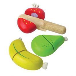 Набор фруктов с ножом