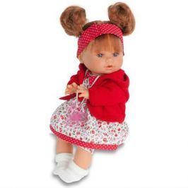 Кукла Кристи в красном, плач., 30 см, Antonio Juan Munecas