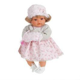 Кукла Белла в белом., плач., 42 см, Antonio Juan Munecas