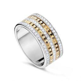 Кольцо с бриллиантами из желтого золота VALTERA 55659
