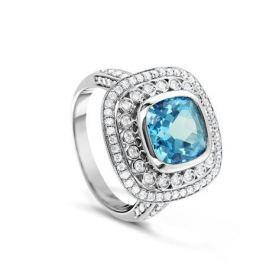 Кольцо из серебра VALTERA 66470