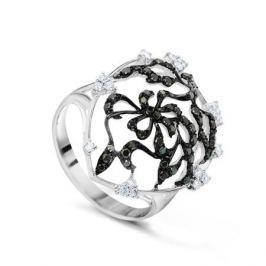 Кольцо с бриллиантами из белого золота VALTERA 47127