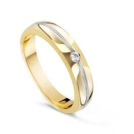 Кольцо с бриллиантами из розового золота VALTERA 54798