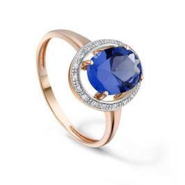 Кольцо с сапфирами и бриллиантами из розового золота VALTERA 92759