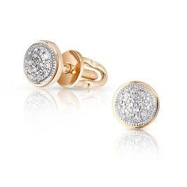 Серьги с бриллиантами из розового золота VALTERA 89933