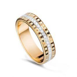 Кольцо с бриллиантами из желтого золота VALTERA 53659
