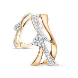 Серьги с бриллиантами из розового золота VALTERA 56938