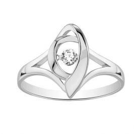 Кольцо с бриллиантами из белого золота VALTERA 90592