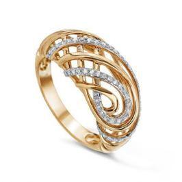 Кольцо с бриллиантами из розового золота VALTERA 57763