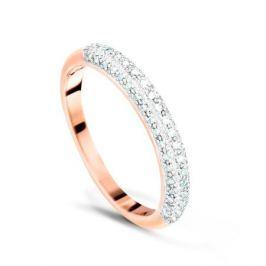 Кольцо с бриллиантами из розового золота VALTERA 42374