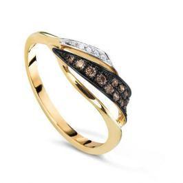 Кольцо с бриллиантами из розового золота VALTERA 63999
