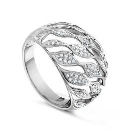 Кольцо с бриллиантами из белого золота VALTERA 57853