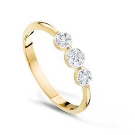 Кольцо с бриллиантами из розового золота VALTERA 53873