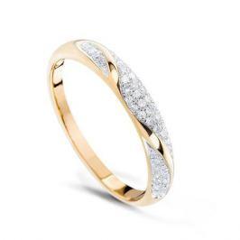 Кольцо с бриллиантами из розового золота VALTERA 74744