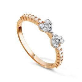 Кольцо из розового золота 80301