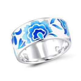 Кольцо с эмалью из серебра VALTERA 92468