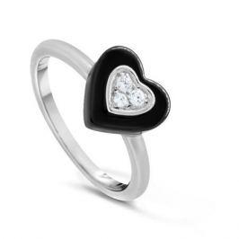 Кольцо керамика из серебра VALTERA 83707