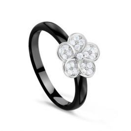 Кольцо керамика из серебра VALTERA 77529
