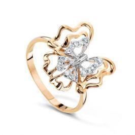 Кольцо с бриллиантами из розового золота VALTERA 57830