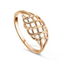 Кольцо из розового золота 81638