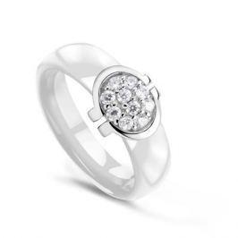 Кольцо керамика из серебра VALTERA 63361