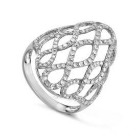 Кольцо с бриллиантами из белого золота VALTERA 73927