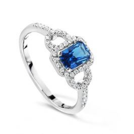 Кольцо из серебра VALTERA 43193