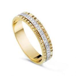 Кольцо с бриллиантами из желтого золота VALTERA 54383