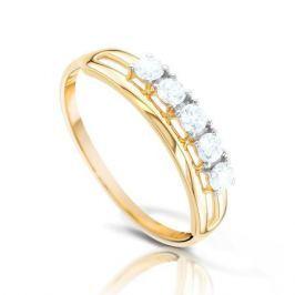 Кольцо из розового золота 87814