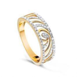 Кольцо с бриллиантами из розового золота VALTERA 74716