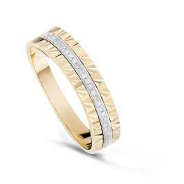 Кольцо с бриллиантами из желтого золота VALTERA 84058