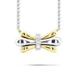 Колье с бриллиантами из желтого золота VALTERA 60622