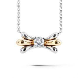 Колье с бриллиантами из розового золота VALTERA 60618