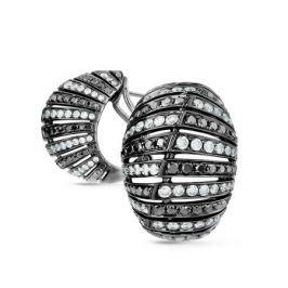Серьги с бриллиантами из белого золота VALTERA 44591