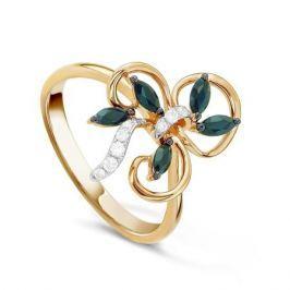 Кольцо с сапфирами и бриллиантами из розового золота VALTERA 43750