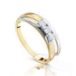 Кольцо из розового золота 87819