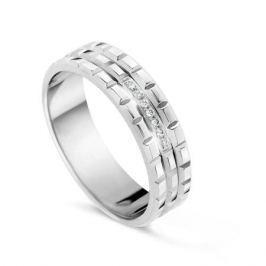 Кольцо с бриллиантами из белого золота VALTERA 54677