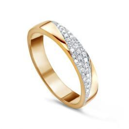 Кольцо с бриллиантами из розового золота VALTERA 60506