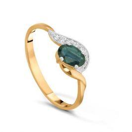 Кольцо с сапфирами и бриллиантами из розового золота VALTERA 16005