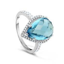 Кольцо из серебра VALTERA 66465