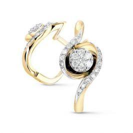 Серьги с бриллиантами из розового золота VALTERA 54074